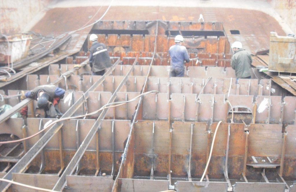 Double Bottom steel works