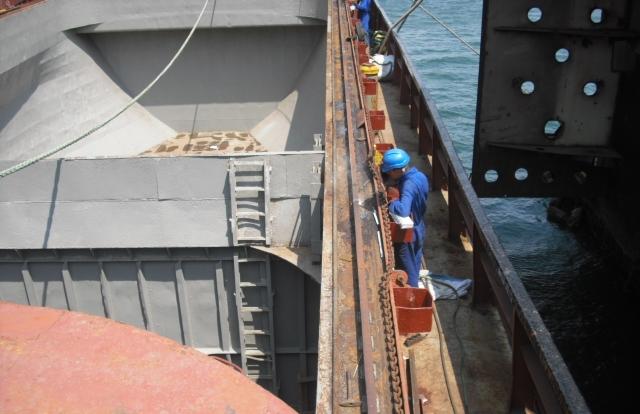 Hatch coaming steel works