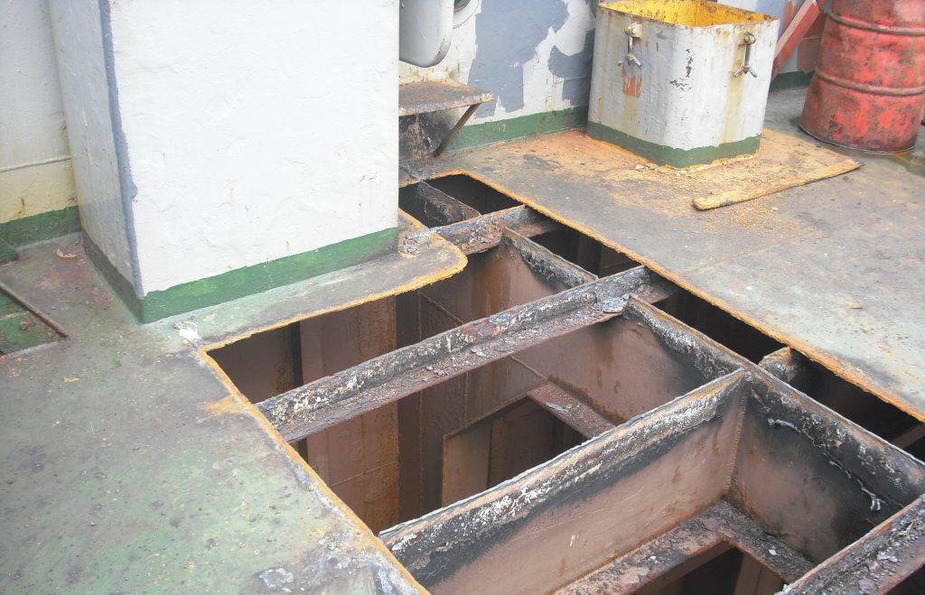 Maindeck Steel Repair 02