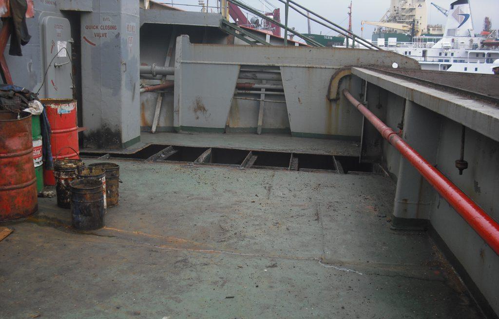 Maindeck Steel Repair