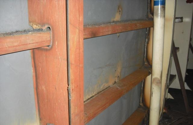 Steel works inside of tunnel 02