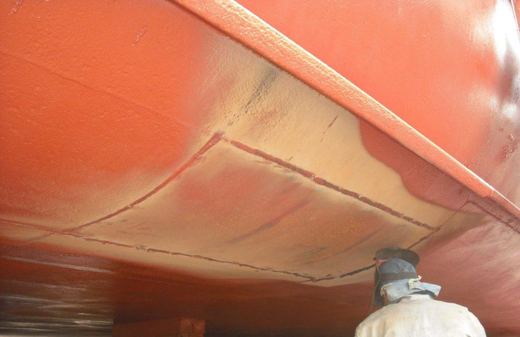 Welding on Vertical Bottom