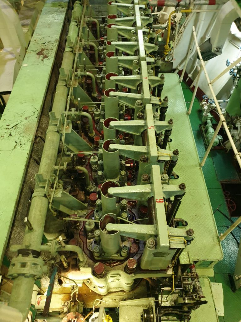 Yanmar maine engine overhauling