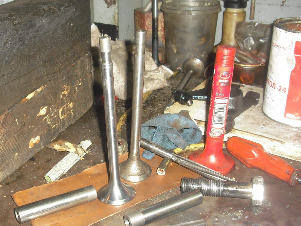 cleaning of intake valves