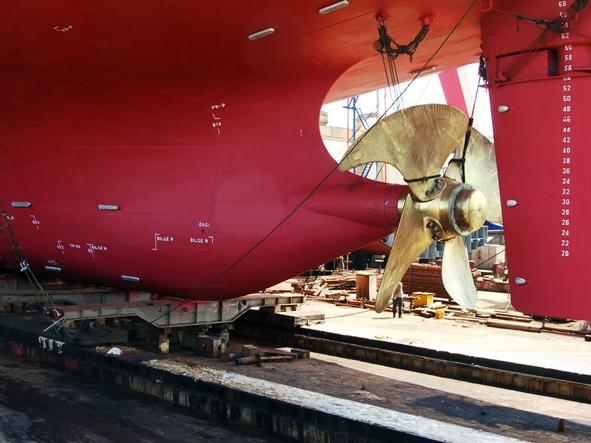 dry-docking-a-ship