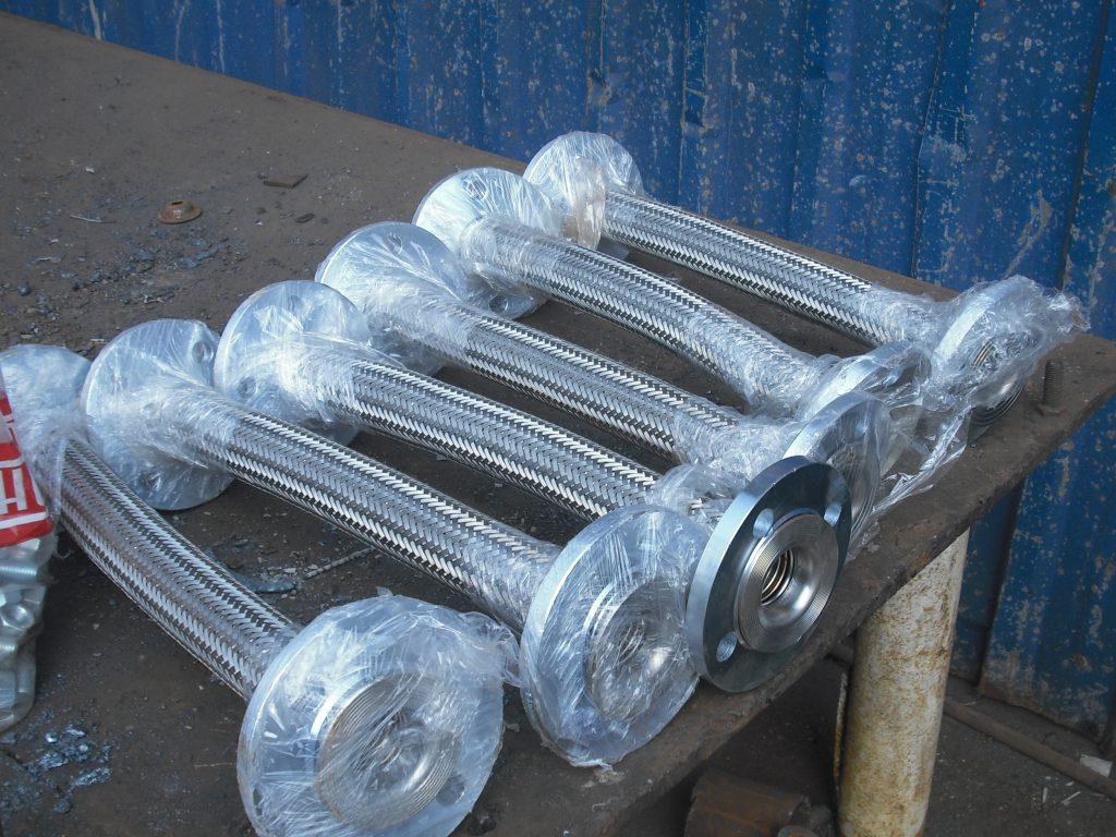 flanged marine flexible metal hose