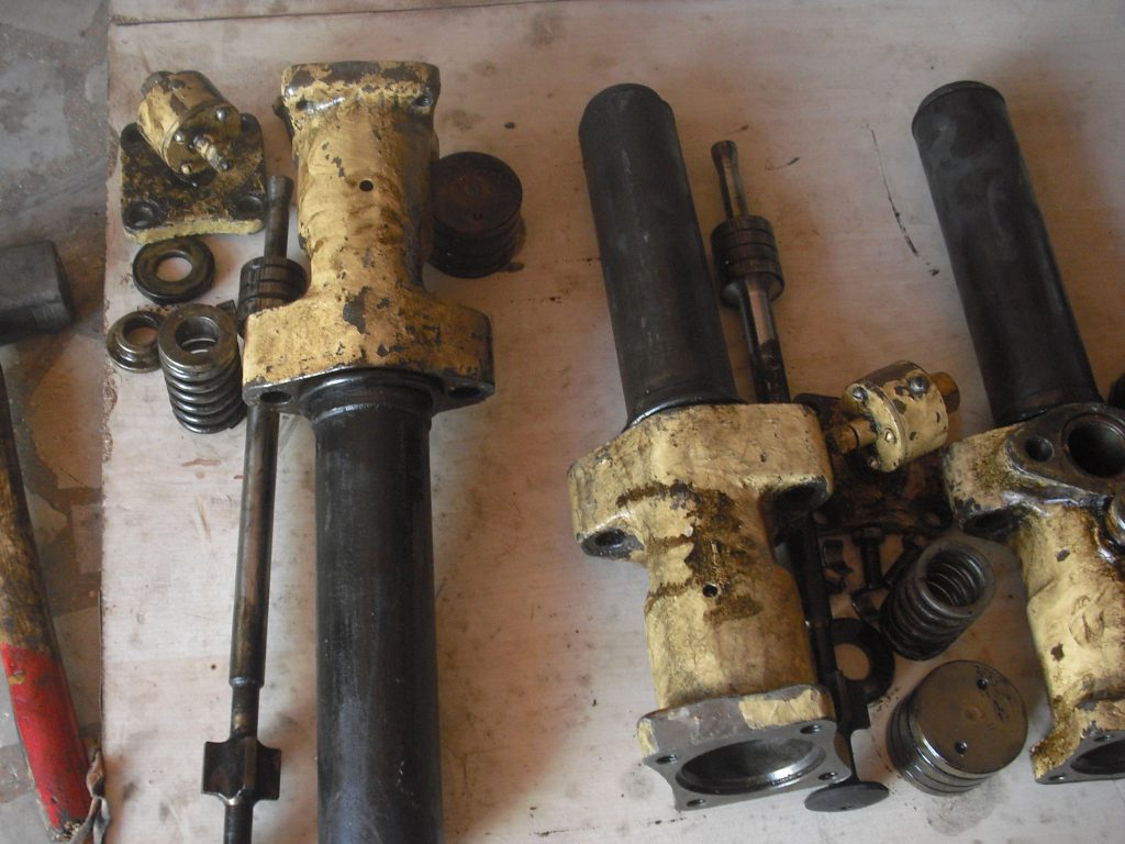 fule injector parts cleaning