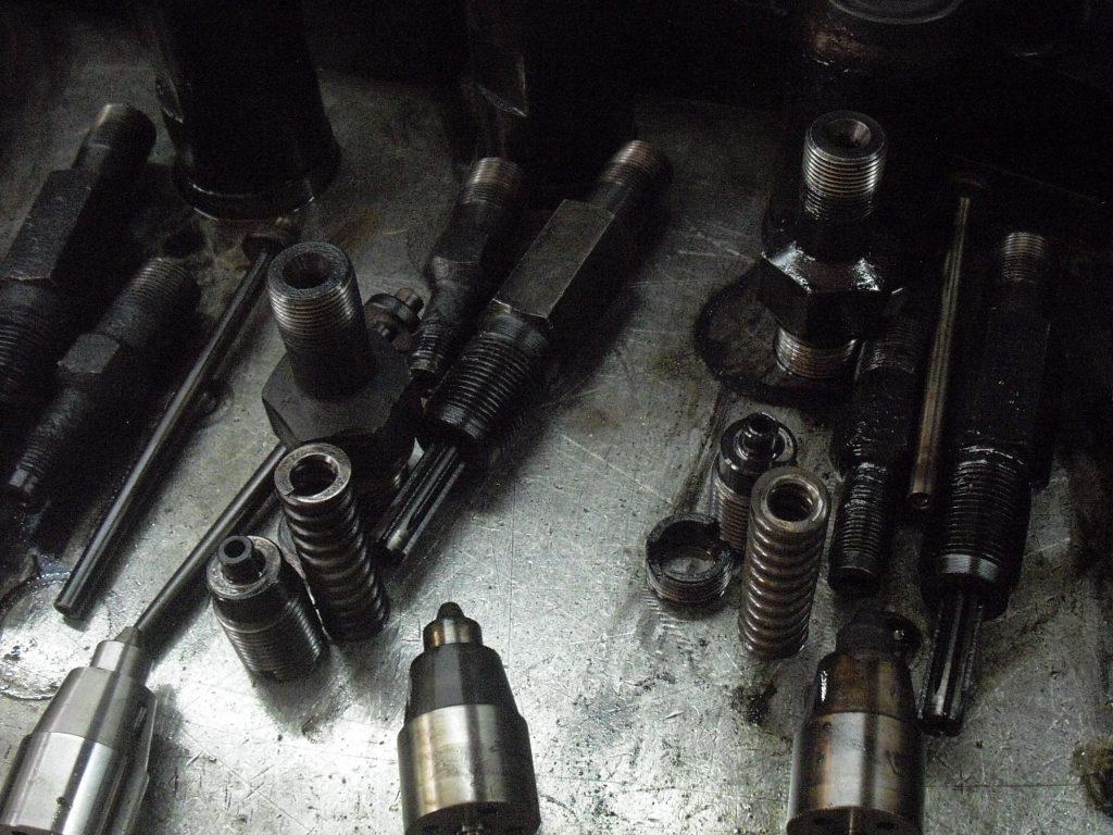injector testing overhauling