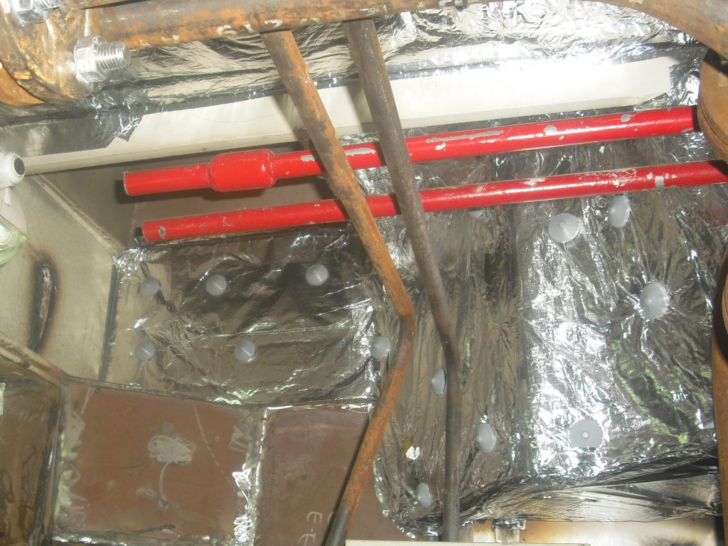 insulation for cabin wall