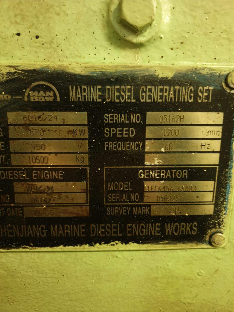 man b&w diesel engine overhauling