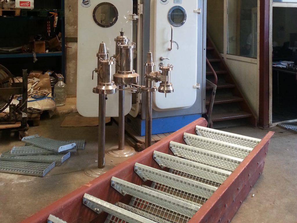 manufacture of marine accomodation ladder