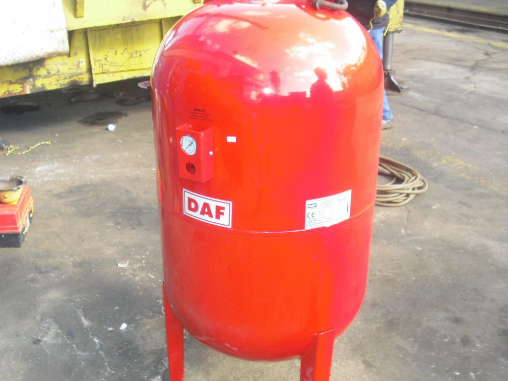 marine water heater extension tank