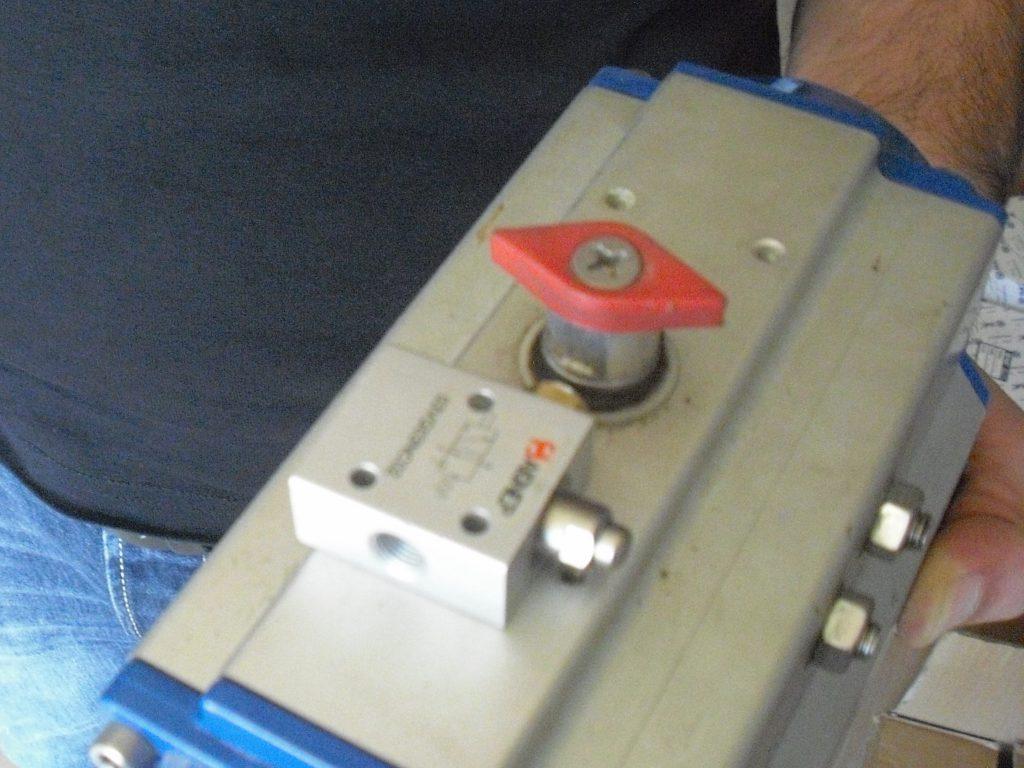 pneumatic actuator supply