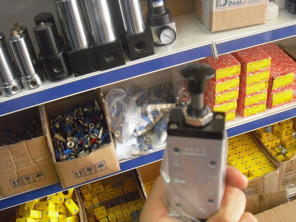 pneumatic button valve supply