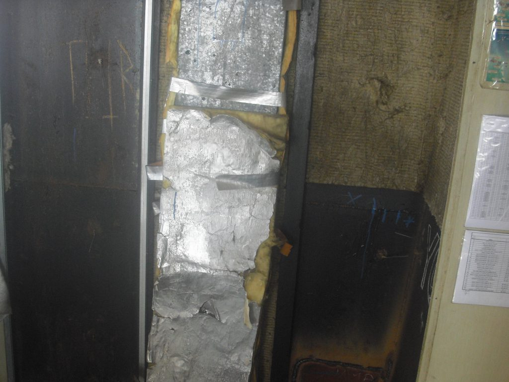 remove wall insulations