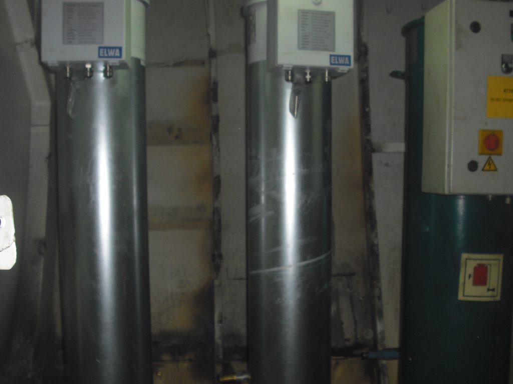 reneval of fuel oil heaters
