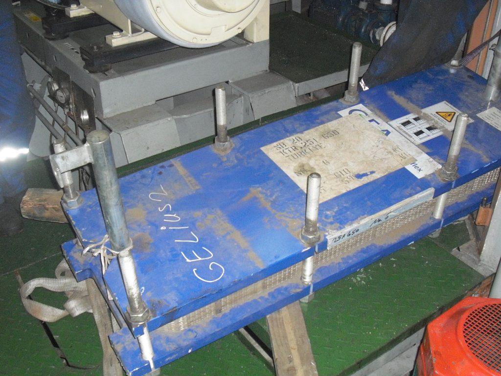 renewal of plate type heat exchanger