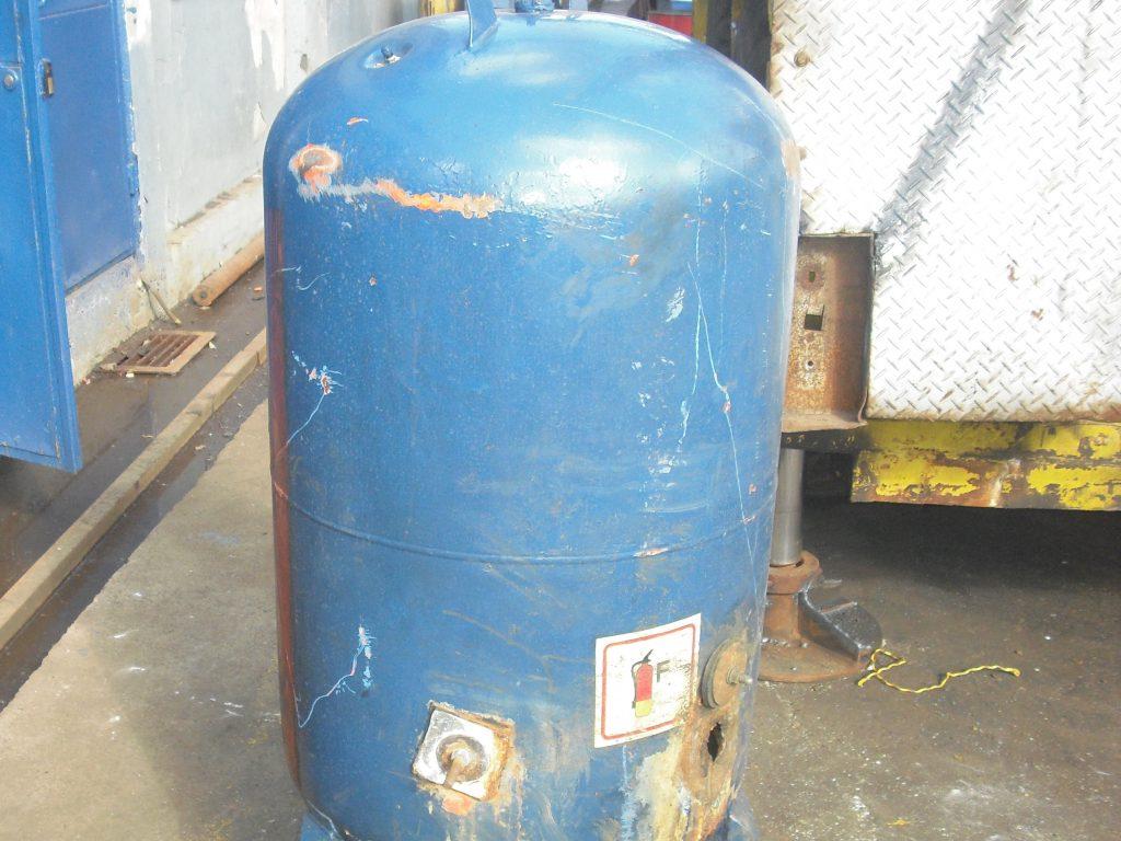 scrap water heater extension tank
