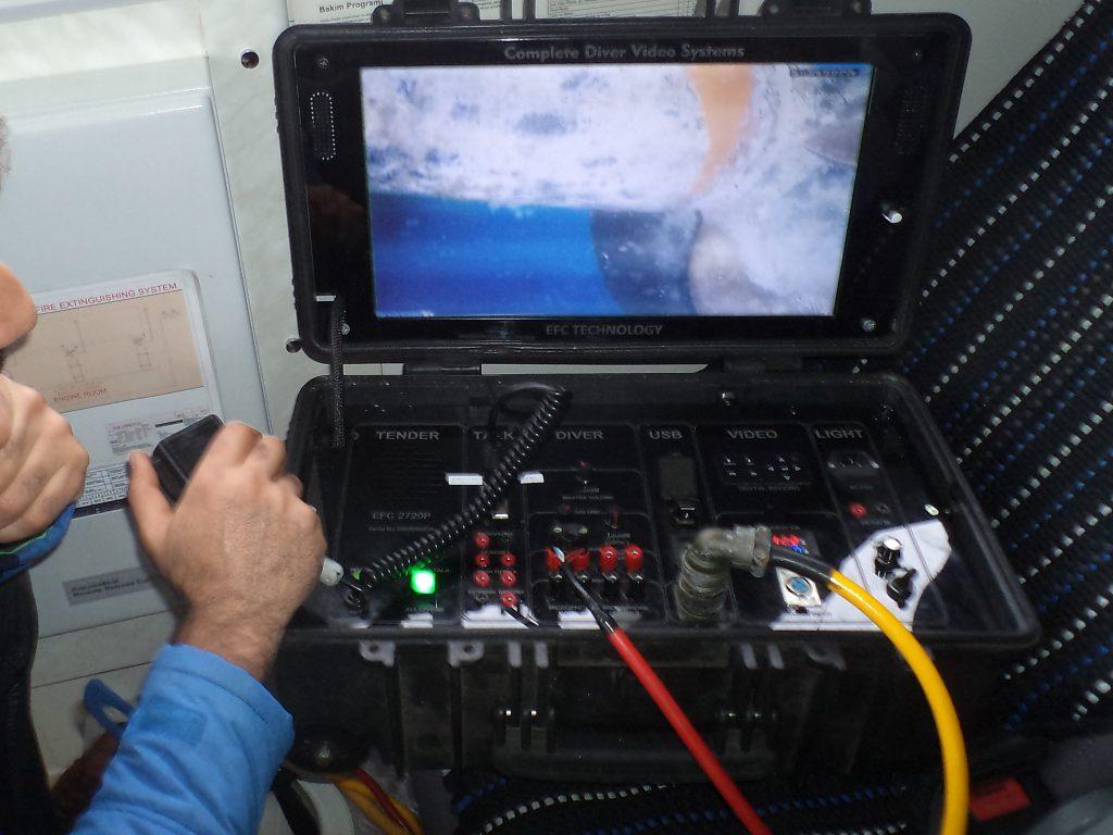 underwater bottom inspection