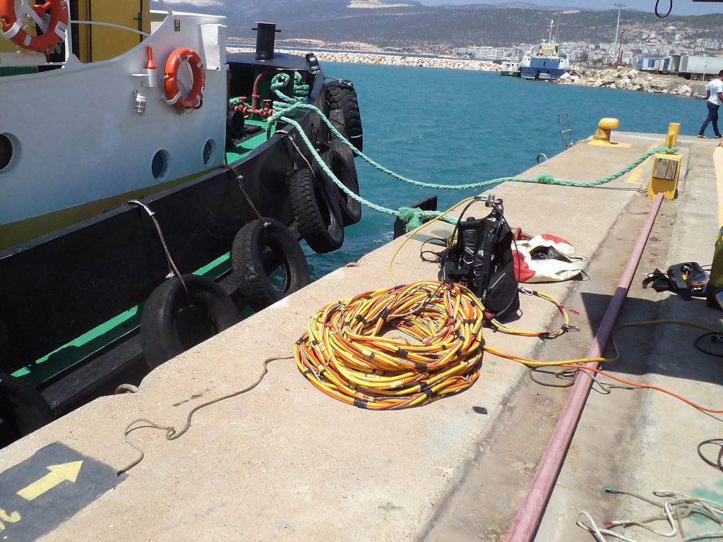 underwater service in istanbul