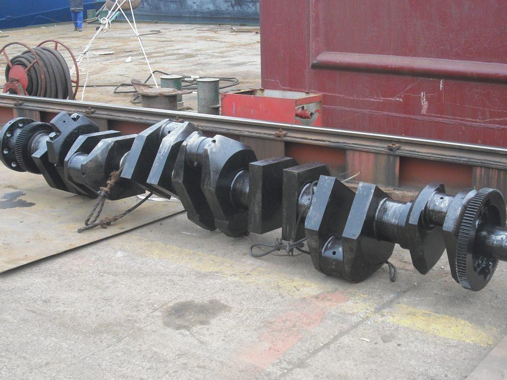 used marine crankshaft
